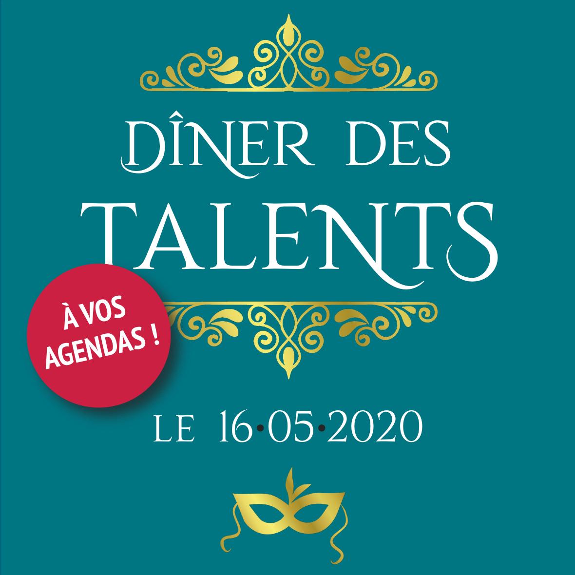 Dîner des talents 2020